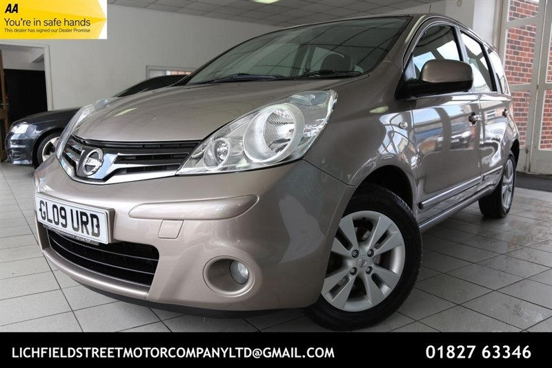 used Nissan Note 16v Acenta 5dr in tamworth-staffordshire