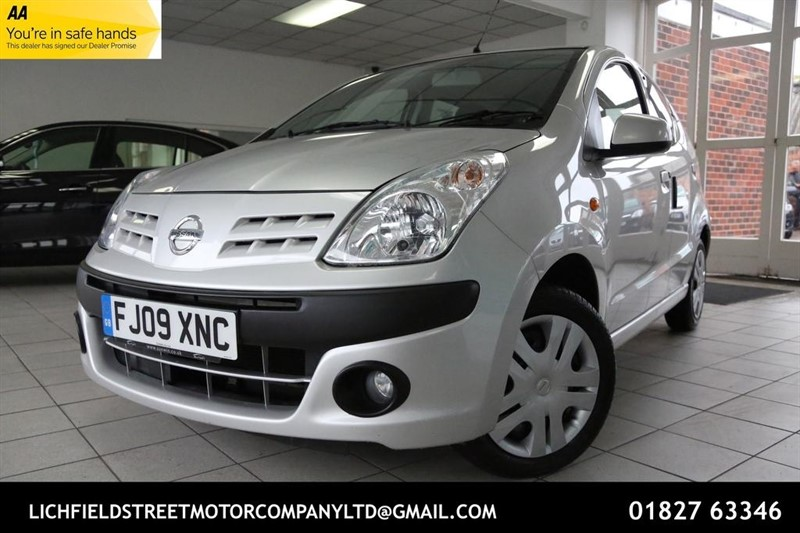used Nissan Pixo n-tec 5dr in tamworth-staffordshire
