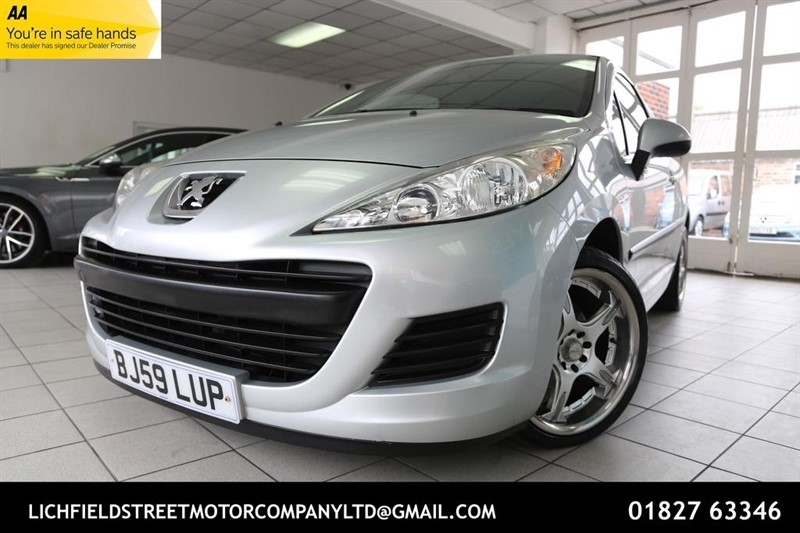 used Peugeot 207 S Hatchback 3dr Manual (a/c) (145 g/km, 75 bhp) in tamworth-staffordshire