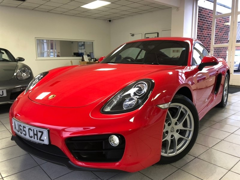 used Porsche Cayman 981 (s/s) 2dr in tamworth-staffordshire