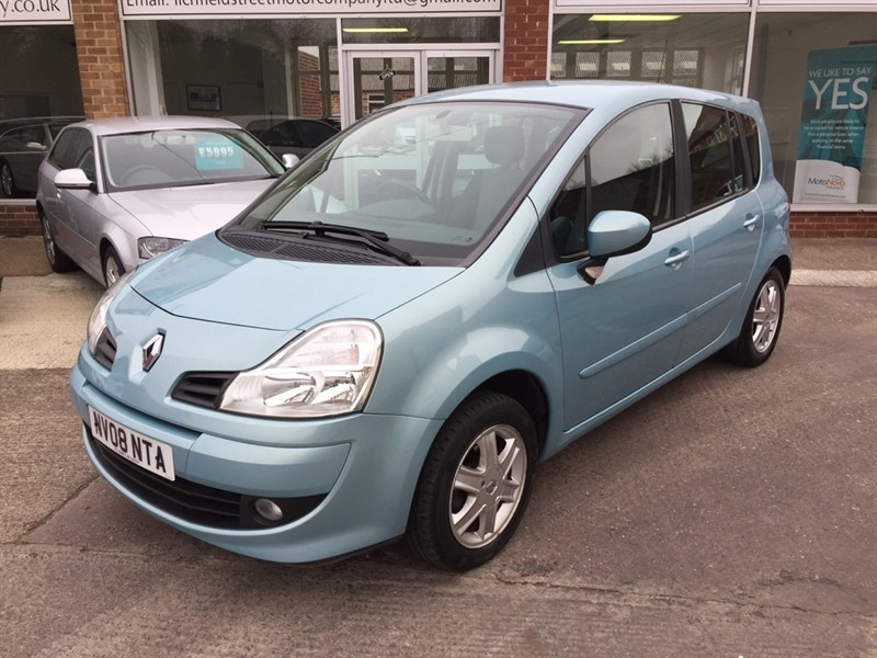 used Renault Grand Modus VVT Dynamique 5dr in tamworth-staffordshire