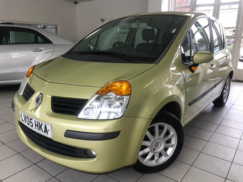 used Renault Modus 16v Dynamique 5dr in tamworth-staffordshire