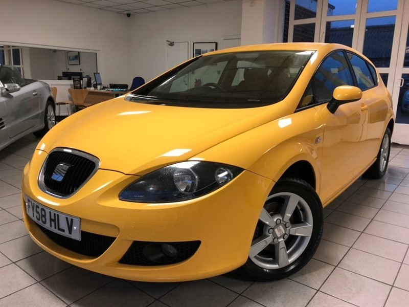used SEAT Leon Emocion Hatchback 5dr Manual (180 g/km, 100 bhp) in tamworth-staffordshire