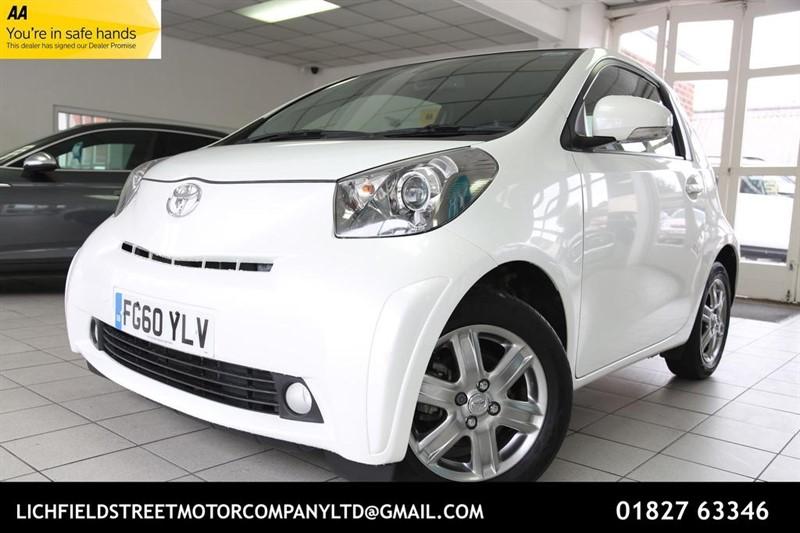 used Toyota iQ VVT-i 3dr in tamworth-staffordshire