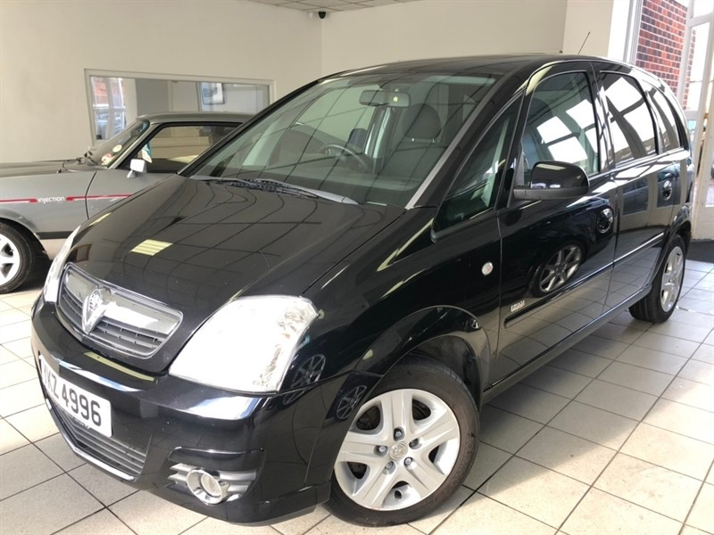 used Vauxhall Meriva i 16v Design 5dr (a/c) in tamworth-staffordshire