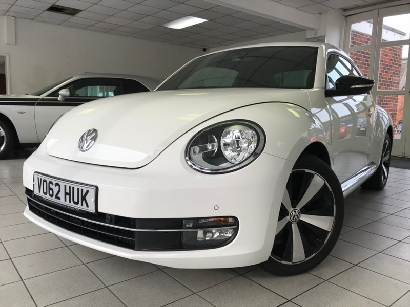 used VW Beetle TSI Sport Hatchback 3dr Manual (153 g/km, 158 bhp) in tamworth-staffordshire
