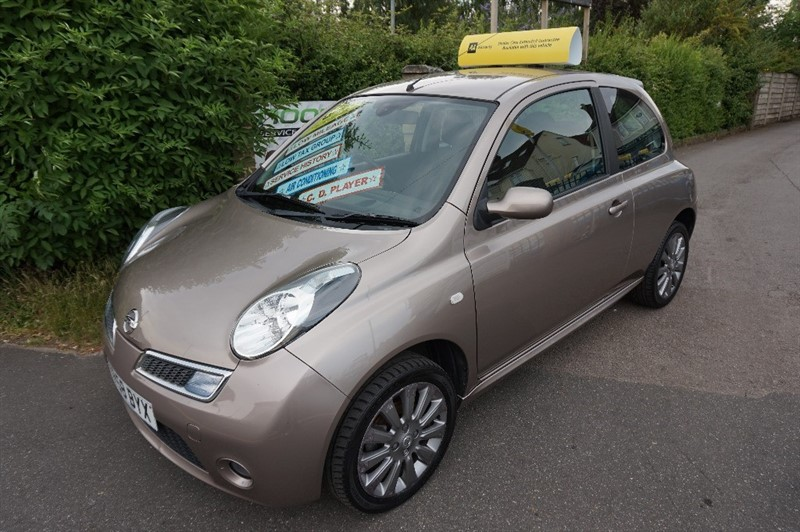 used Nissan Micra TEKNA in chelmsford essex