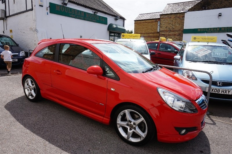 used Vauxhall Corsa SRI in chelmsford essex
