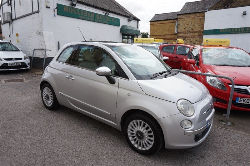 used Fiat 500 LOUNGE in chelmsford essex