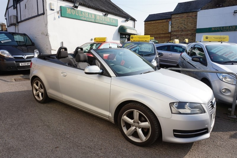 used Audi A3 TDI TECHNIK in chelmsford essex