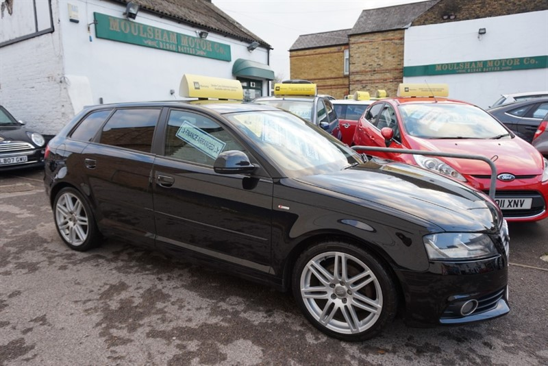 used Audi A3 TDI S LINE in chelmsford-essex