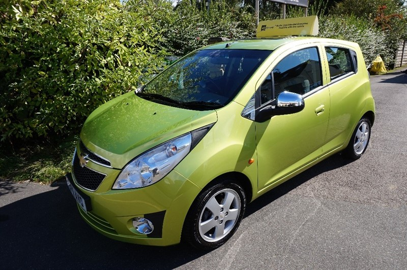 used Chevrolet Spark LS in chelmsford-essex