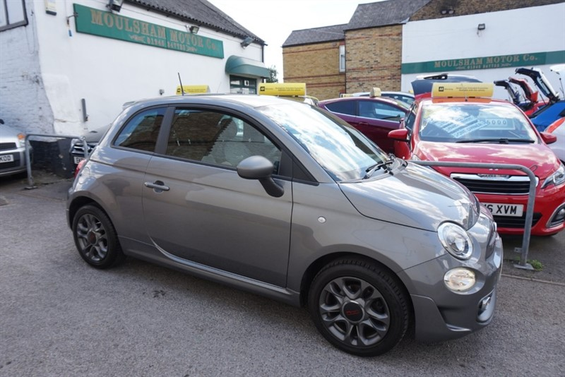 used Fiat 500 S in chelmsford-essex