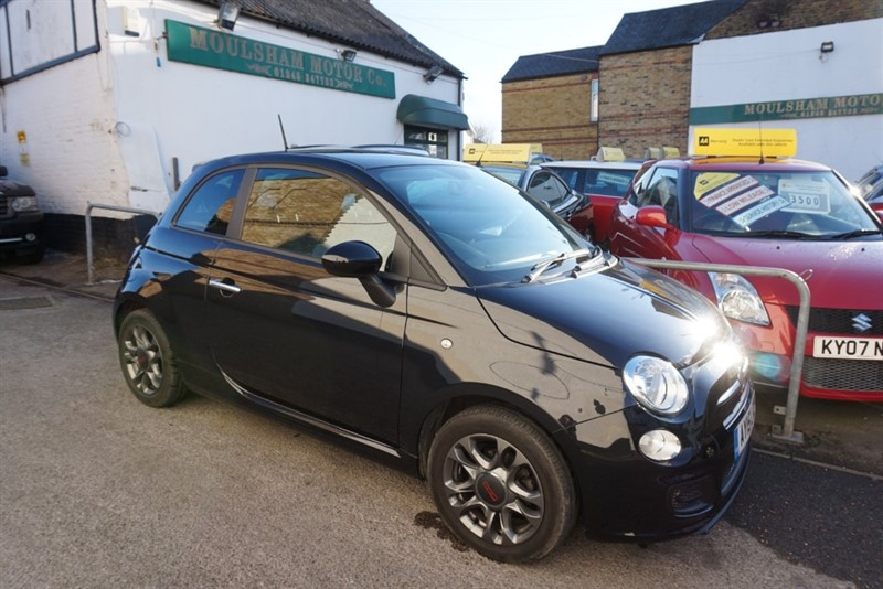 used Fiat 500 S in chelmsford essex