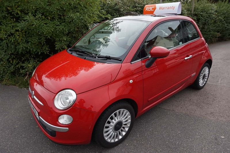 used Fiat 500 MultiJet 16v Lounge (s/s) 3dr in chelmsford-essex