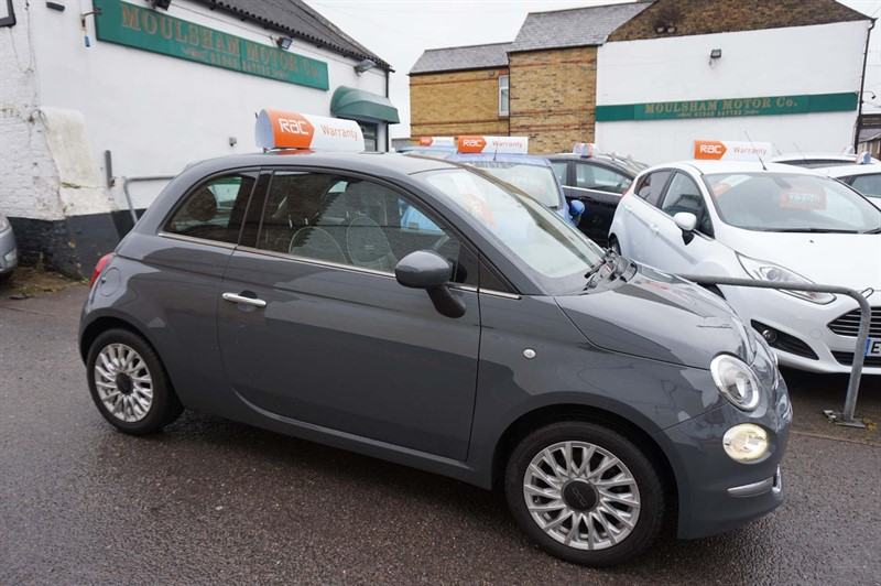 used Fiat 500 1.2 8V Lounge (s/s) 3dr in chelmsford-essex