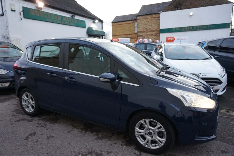used Ford B-Max Zetec 5dr (EU5) in chelmsford-essex