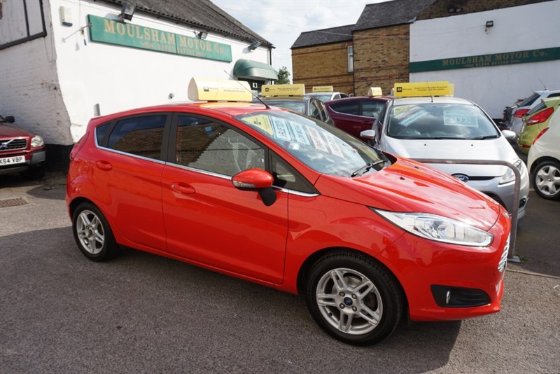 used Ford Fiesta ZETEC TDCI in chelmsford-essex
