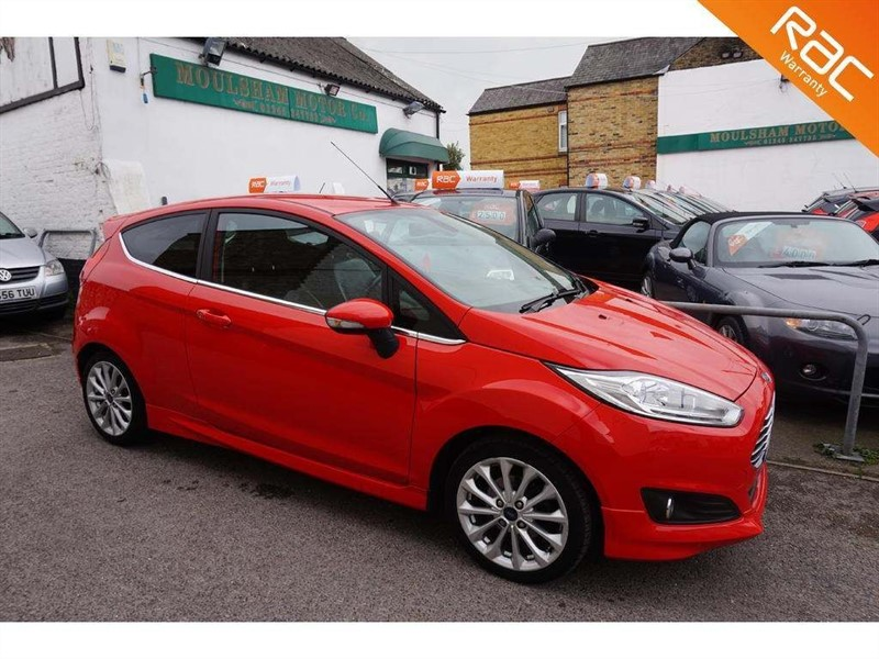 used Ford Fiesta T EcoBoost Titanium (s/s) 3dr in chelmsford-essex