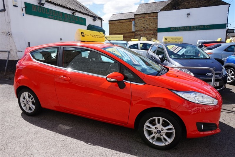 used Ford Fiesta ZETEC in chelmsford-essex