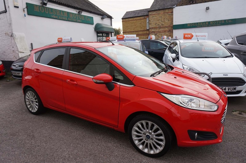 used Ford Fiesta TDCi Zetec 5dr in chelmsford-essex