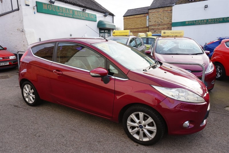 used Ford Fiesta ZETEC in chelmsford-essex