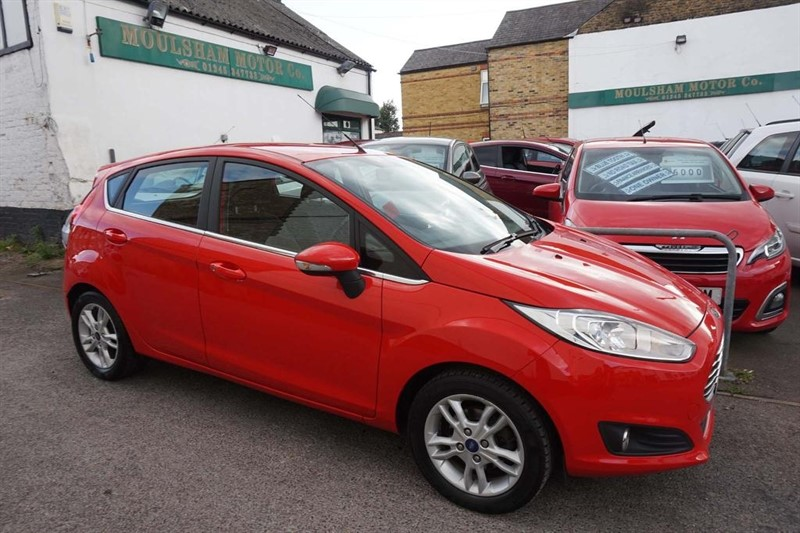 used Ford Fiesta Zetec 5dr in chelmsford-essex