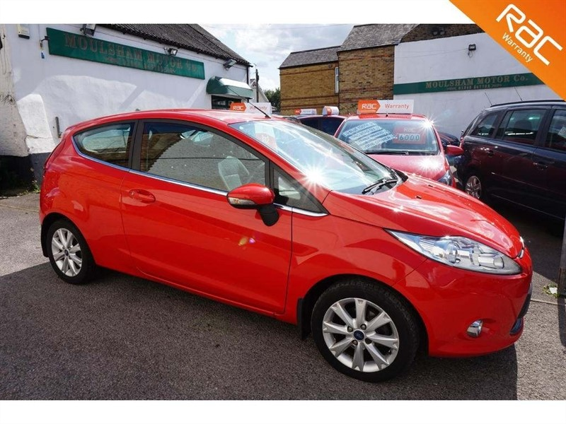 used Ford Fiesta Zetec 3dr in chelmsford-essex