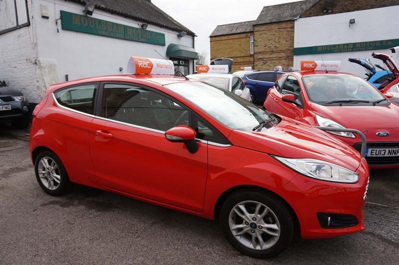 used Ford Fiesta Zetec 3dr (EU6) in chelmsford-essex