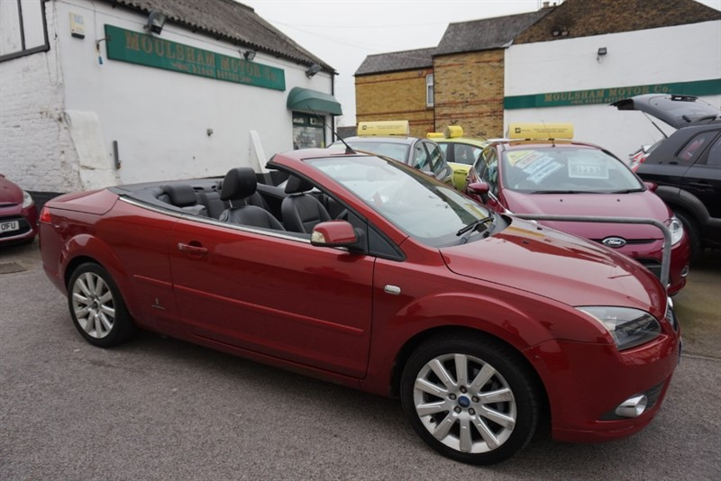 used Ford Focus CC3 in chelmsford-essex