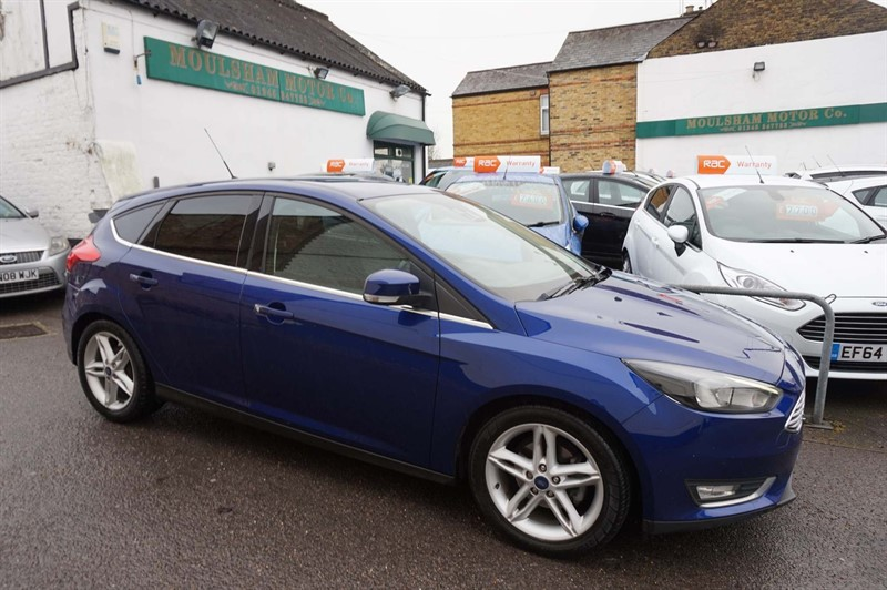 used Ford Focus TDCi Titanium (s/s) 5dr in chelmsford-essex