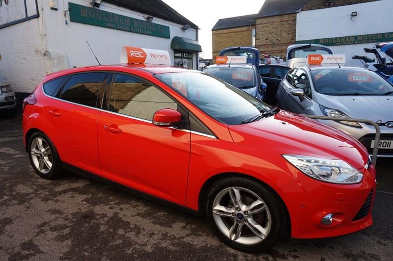 used Ford Focus TDCi Titanium X 5dr in chelmsford-essex