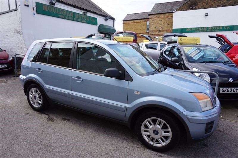 used Ford Fusion ZETEC CLIMATE in chelmsford essex