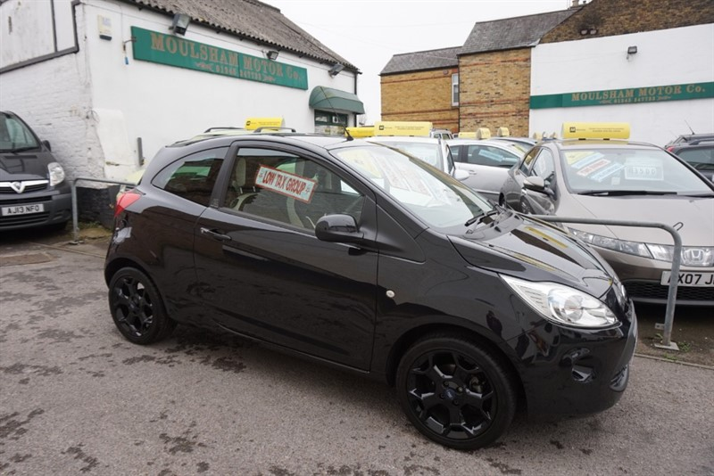 used Ford KA ZETEC BLACK EDITION in chelmsford essex