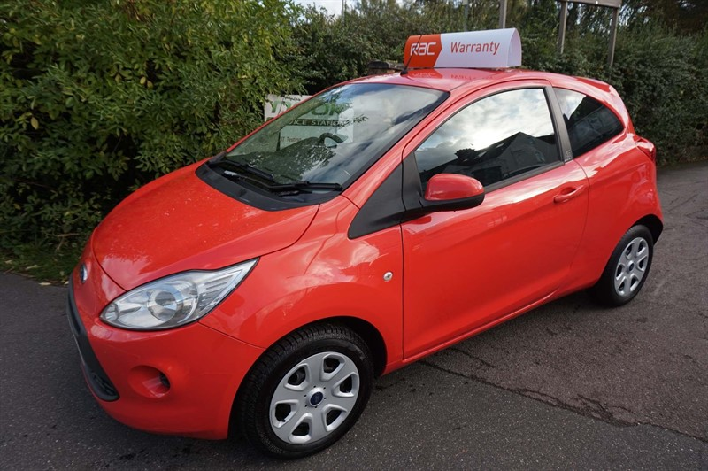 used Ford KA 1.2 Edge (s/s) 3dr in chelmsford-essex