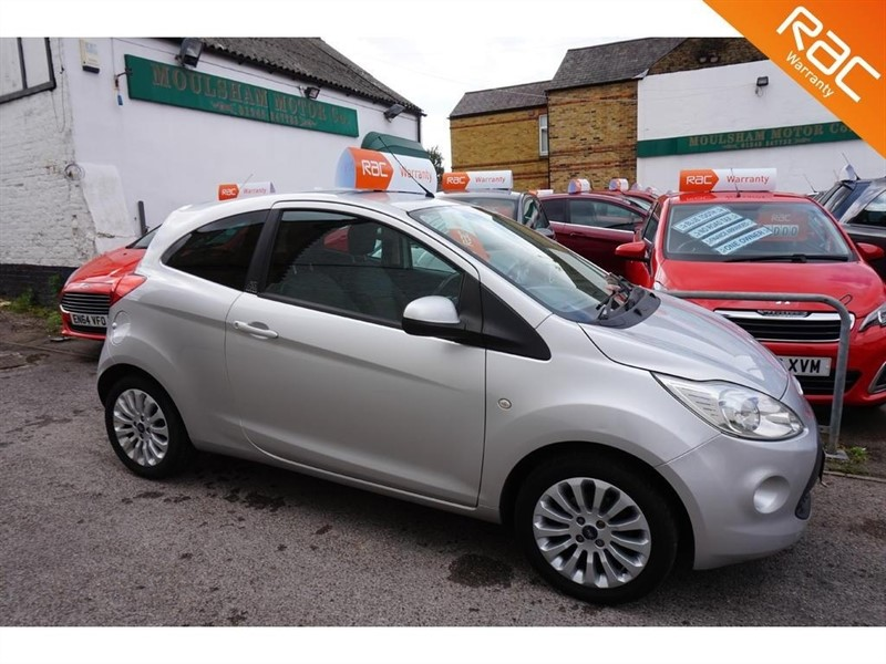 used Ford KA 1.2 Zetec (s/s) 3dr in chelmsford-essex