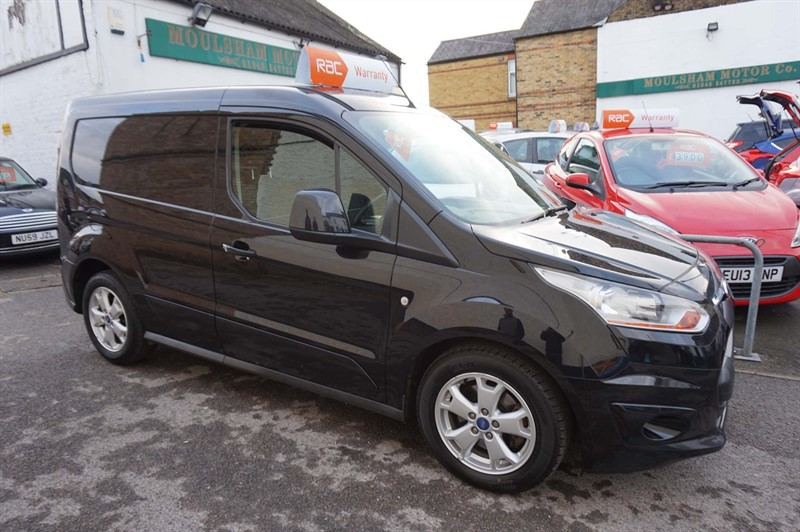 used Ford Transit Connect TDCi 200 L1 Limited 4dr in chelmsford-essex
