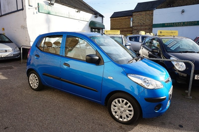 used Hyundai i10 1.2 Classic 5dr in chelmsford essex