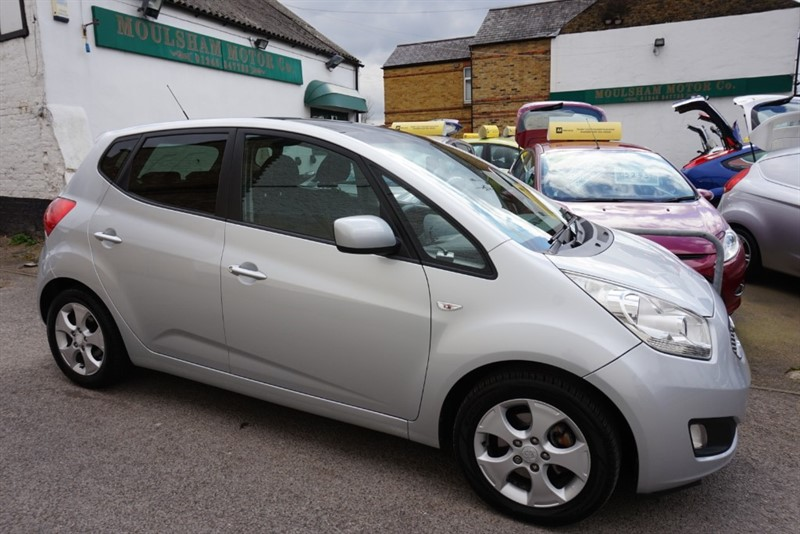 used Kia Venga CRDI 3 ECODYNAMICS in chelmsford-essex