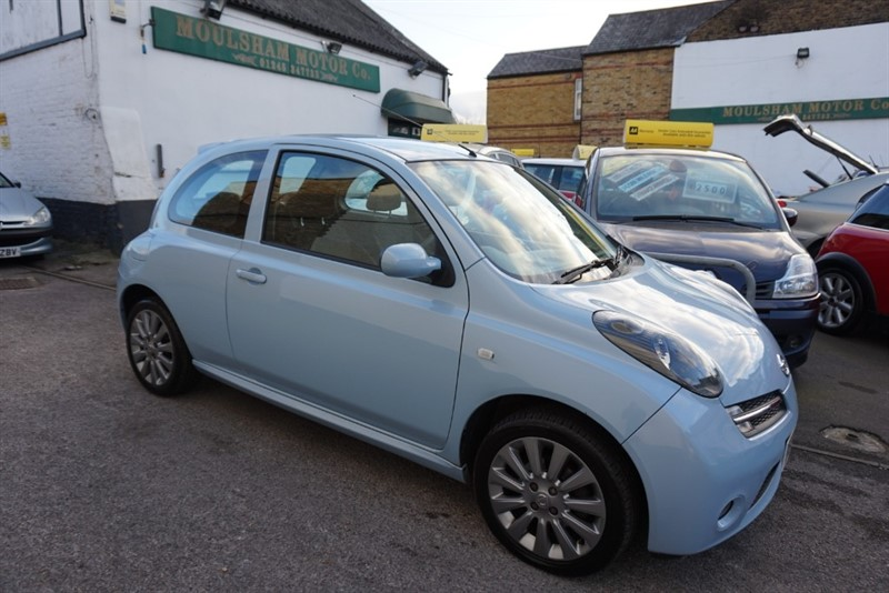 used Nissan Micra 160SR in chelmsford essex