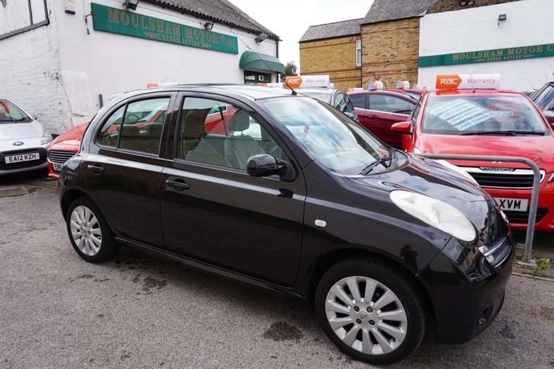 used Nissan Micra 16v Active Luxury 5dr in chelmsford-essex