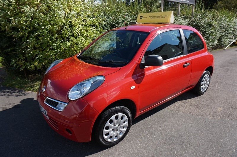 used Nissan Micra VISIA in chelmsford-essex