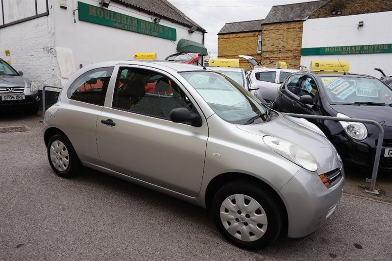 used Nissan Micra 1.2 16v S 3dr in chelmsford essex