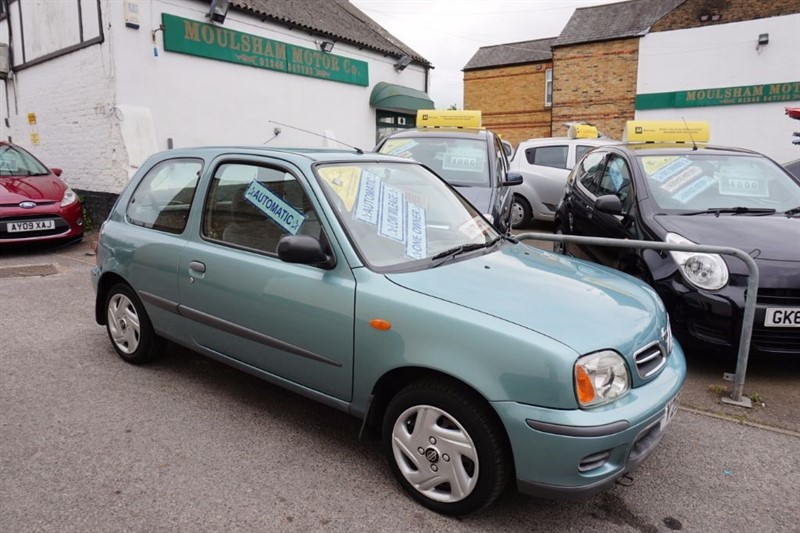 used Nissan Micra SE 16V in chelmsford essex