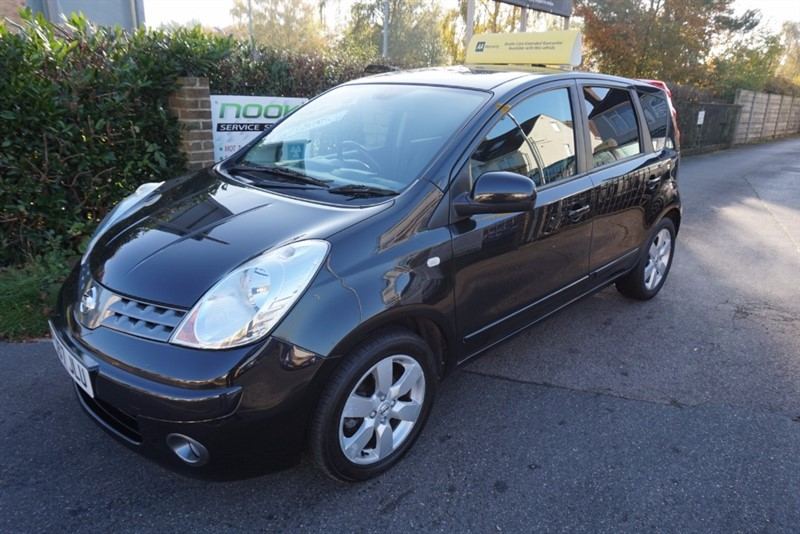 used Nissan Note TEKNA in chelmsford essex