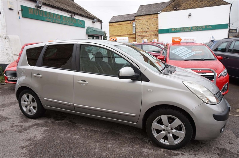 used Nissan Note 16v SVE 5dr in chelmsford-essex