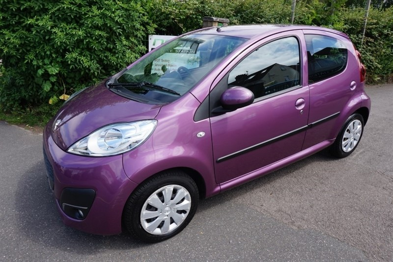 used Peugeot 107 ACTIVE in chelmsford-essex