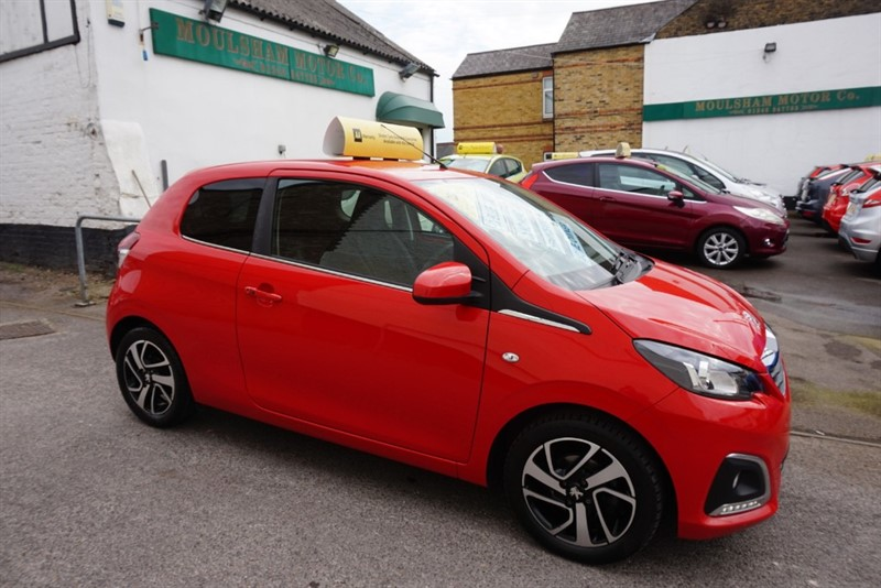used Peugeot 108 ALLURE in chelmsford-essex