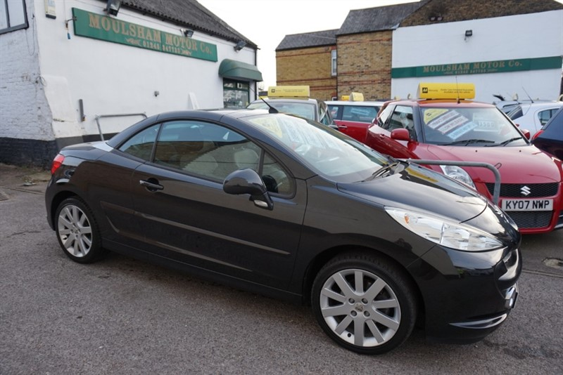 used Peugeot 207 GT COUPE CABRIOLET in chelmsford essex