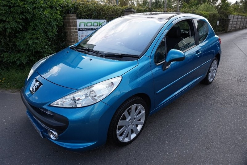 used Peugeot 207 THP GT 3dr in chelmsford essex
